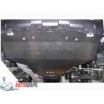 Защита Subaru Outback III 2003-2009 только V-3,0 защита АКПП, МКПП (1.0060.00) двигатель и КПП - Кольчуга
