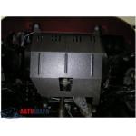Защита Fiat Albea 2002- V-1,2; 1,4; 1,6; 1,3 JTD; 2,0 МКПП двигатель и КПП - Кольчуга