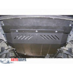 Защита Peugeot 307 2001-2008 V- все двигатель, КПП, радиатор - Премиум ZiPoFlex - Kolchuga