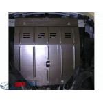 Защита Daewoo Nexia 2003-2015 V-1.5 двигатель, КПП, радиатор - Премиум ZiPoFlex - Kolchuga
