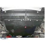 Защита Mitsubishi Outlander 2003-2010 V- все двигатель, КПП, радиатор - Премиум ZiPoFlex - Kolchuga
