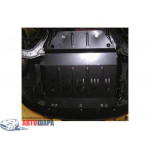 Защита Peugeot Partner Origin 2008- V- все двигатель, КПП, радиатор - Премиум ZiPoFlex - Kolchuga