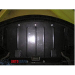 Защита BMW 5-й серії E60/E61 2003-2010 V-2,0D; 3,0 двигатель, радиатор - Премиум ZiPoFlex - Kolchuga