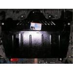 Защита Toyota Camry XV40 2007-2011 V- все двигатель и КПП - Премиум ZiPoFlex - Kolchuga