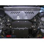 Защита Ssаng Yong Kyron 2005- V- все двигатель, КПП, радиатор, раздатка - Премиум ZiPoFlex - Kolchuga