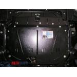 Защита Kia Cerato II 2009-2012 V- все двигатель, КПП, радиатор - Премиум ZiPoFlex - Kolchuga