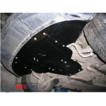 Защита Audi A6 C6 2004-2011 V- все двигатель, КПП, радиатор - Премиум ZiPoFlex - Kolchuga