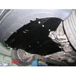 Защита Audi A4 B6/A4 В7 2000-2008 V-1.9TDI; 1,8Т; 2,0TDI; двигатель, КПП, радиатор - Премиум ZiPoFlex - Kolchuga