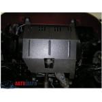 Защита Fiat Albea 2002-2012 V- все двигатель, КПП, радиатор частично - Премиум ZiPoFlex - Kolchuga