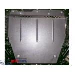 Защита Nissan Note 2005-2013 V 1,6 двигатель, КПП, радиатор - Премиум ZiPoFlex - Kolchuga
