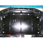 Защита Mazda CX-7 2006-2012 V-2,3 двигатель, КПП, радиатор - Премиум ZiPoFlex - Kolchuga