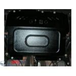 Защита Peugeot 107 2005- V- все двигатель, КПП, радиатор - Премиум ZiPoFlex - Kolchuga