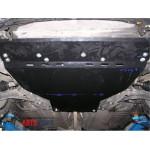Защита Peugeot 207 2006- V- все двигатель, КПП, радиатор - Премиум ZiPoFlex - Kolchuga