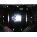 Защита Honda CR-V III 2007-2013 V-2,0І двигатель и КПП - Премиум ZiPoFlex - Kolchuga