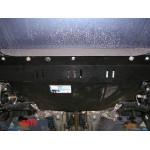 Защита Fiat Linea Classic 2007- V-1,4 Б; 1,3 D двигатель, КПП, радиатор - Премиум ZiPoFlex - Kolchuga