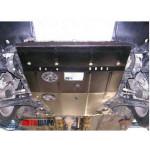 Защита Suzuki SX-4 Classic 2006-2013 V- все двигатель, КПП, радиатор - Премиум ZiPoFlex - Kolchuga