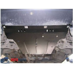 Защита Mercedes-Benz Viano D (W 639) 2004- V- все двигатель, КПП, радиатор - Премиум ZiPoFlex - Kolchuga