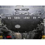Защита Honda CR-V III 2007-2013 V-2,4 двигатель и КПП - Премиум ZiPoFlex - Kolchuga