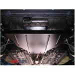 Защита Honda Accord VIII 2008-2013 V-2,4/3,5 АКПП двигатель, КПП, радиатор - Премиум ZiPoFlex - Kolchuga