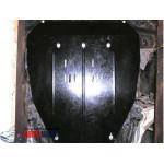 Защита Honda Pilot 2008-2012 V-3,5 двигатель, КПП, радиатор - Премиум ZiPoFlex - Kolchuga