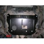 Защита Chevrolet Captiva 2006-2010 V-2,4 двигатель,КПП,раздатка частично - Премиум ZiPoFlex - Kolchuga