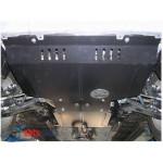 Защита Subaru  Forester 2008-2012 V2,0 двигатель, КПП, радиатор - Премиум ZiPoFlex - Kolchuga