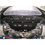 Защита Ford Focus II 2004-2011 V- все двигатель, КПП, радиатор - Премиум ZiPoFlex - Kolchuga
