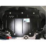 Защита Seat Altea  Freetrack 2007- V-1,4; 2,0 TFSI двигатель, КПП, радиатор - Премиум ZiPoFlex - Kolchuga