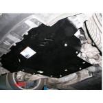 Защита Honda Civic VIII 2006-2012 V- все хетчбек двигатель, КПП, радиатор - Премиум ZiPoFlex - Kolchuga
