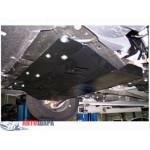 Защита Fiat Scudo 2007-2016 V- все двигатель, КПП, радиатор - Премиум ZiPoFlex - Kolchuga