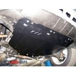 Защита Ford Kuga 2008-2013 V- все двигатель, КПП, радиатор - Премиум ZiPoFlex - Kolchuga