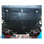 Защита Nissan X-Trail T31 2007-2014 V- все двигатель, КПП, радиатор - Премиум ZiPoFlex - Kolchuga