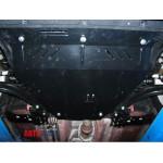 Защита Nissan Qashqai J10 2006-2014 V- все двигатель, КПП - Премиум ZiPoFlex - Kolchuga