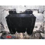Защита Lancia Delta 2008- V-1,4Т; 1,6 D двигатель, КПП, радиатор - Премиум ZiPoFlex - Kolchuga