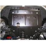 Защита Seat Cordoba 2007-2009 V- все двигатель, КПП, радиатор - Премиум ZiPoFlex - Kolchuga