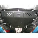 Защита Kia Soul 2008-2013 V- все двигатель, КПП, радиатор - Премиум ZiPoFlex - Kolchuga