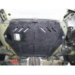 Защита Opel Combo С 2001-2011 V-1,6; 1,3 CRDI двигатель, КПП, радиатор - Премиум ZiPoFlex - Kolchuga