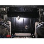 Защита Renault  Megane II 2002-2008 V- все двигатель, КПП, радиатор - Премиум ZiPoFlex - Kolchuga