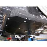 Защита Chevrolet Orlando 2011- V- все Б двигатель, КПП, радиатор - Премиум ZiPoFlex - Kolchuga