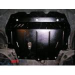 Защита Volkswagen Passat B6 2005-2010 V-1,4; 2,0 D/2,0i Б двигатель, КПП, радиатор - Премиум ZiPoFlex - Kolchuga