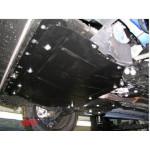 Защита Opel Combo D 2012- V- все двигатель, КПП, радиатор - Премиум ZiPoFlex - Kolchuga