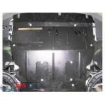 Защита Volkswagen T-5 2003- V- все двигатель, КПП, радиатор та кондиціонер - Премиум ZiPoFlex - Kolchuga