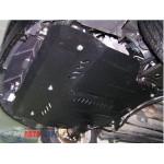 Защита ЗАЗ Forza 2011- V- все двигатель, КПП, радиатор - Премиум ZiPoFlex - Kolchuga