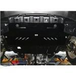 Защита Ssаng Yong Korando 2010- V- все двигатель, КПП, радиатор - Премиум ZiPoFlex - Kolchuga