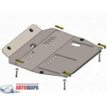 Защита Ssаng Yong Korando 2011- V- все двигатель, КПП, радиатор - Премиум ZiPoFlex - Kolchuga