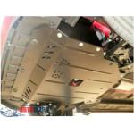 Защита Kia Picanto 2011- V-1,2 двигатель, КПП, радиатор - Премиум ZiPoFlex - Kolchuga