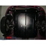 Защита Lifan 320 2011- V-1,3 двигатель, КПП, радиатор - Премиум ZiPoFlex - Kolchuga