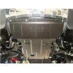 Защита Jeep Grand Cherokee 2011- V-3.0 D двигатель, КПП, радиатор, редуктор - Премиум ZiPoFlex - Kolchuga