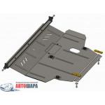 Защита Geely Emgrand ЕС7 2011- V- все двигатель, КПП, радиатор - Премиум ZiPoFlex - Kolchuga