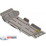 Защита Toyota Hilux 2011-2015 V-2,5D; 3,0D двигатель и КПП - Премиум ZiPoFlex - Kolchuga